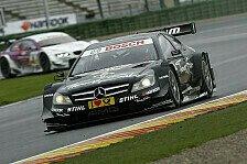 DTM - Mercedes: Keine Sorgen wegen Valencia-Pleite