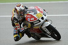 Moto3 - Rossi: Ein guter erster Tag