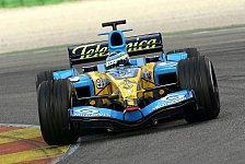Formel 1 - Giancarlo Fisichellas Kräfteverhältnis