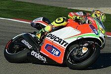 MotoGP - Rossi glücklich mit Setup-Änderungen