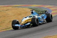 Formel 1 - Renault setzt ein gelb-blaues Ausrufezeichen