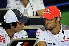 Formel 1 - Button: Perez ist dem Druck gewachsen