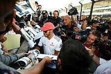 Formel 1 - Hamilton glaubt nicht an Titel 2013