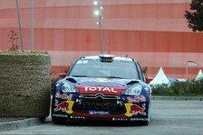 WRC - Loeb übernimmt Frankeich-Führung