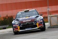 WRC - Rallye Frankreich: Neuville setzt erste Bestzeit