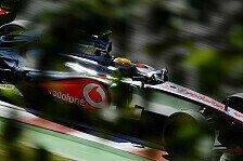 Formel 1 - Hamilton mit Interesse an McLaren-Technik