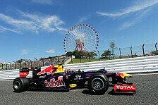 Formel 1 - 2. Training: Red Bull in Japan voran