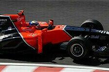 Formel 1 - Marussia leidet unter fehlendem KERS