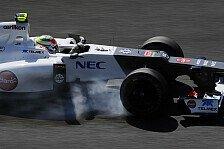 Formel 1 - Sauber mit reibungslosem Suzuka-Freitag