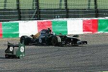 Formel 1 - Caterham: Positiver Tag trotz Petrov-Abflug