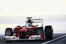 Formel 1 - Ferrari erlebte normalen Freitag