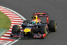 Formel 1 - 3. Training: Red Bull vor Massa
