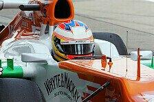Formel 1 - Force India: Punkte sind das Ziel