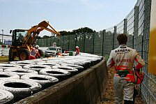 Formel 1 - Getriebewechsel bei Hülkenberg