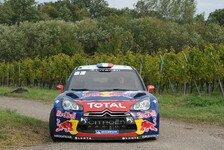 WRC - Loeb zelebriert den neunten WM-Titel