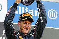 Formel 1 - Vettel: In der F1 zu fahren ist ein Privileg