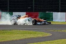 Formel 1 - Di Resta nur P12: Falsche Strategie war schuld
