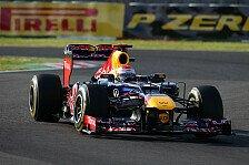 Formel 1 - Vettel kann in Korea die Spitze übernehmen