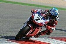 Superbike - Checa mit Test zufrieden