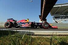 Formel 1 - 3. Training: Vettel weit vor McLaren