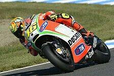 MotoGP - Rossi machte Fortschritte