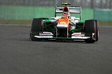 Formel 1 - Hülkenberg strahlt, Di Resta schmollt