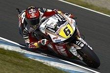 MotoGP - Arm Pump bremste Bradl in Motegi