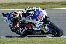 MotoGP - MotoGP-Warm-Up bringt Lorenzo-Bestzeit
