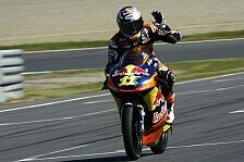Moto3 - Cortese wollte auf der Strecke gewinnen