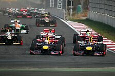 Formel 1 - Vettel: Trotz Reifen-Sorgen zum Korea-Sieg
