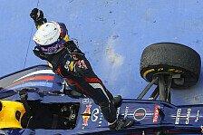 Formel 1 - Kein Problem an Vettels Reifen in Korea