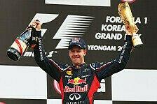 Formel 1 - Vettel: Unkompliziert zum dritten Titel?