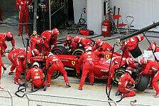 Formel 1 - Montezemolo: Ferrari gibt nicht auf