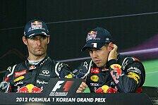 Formel 1 - Horner: Zu früh für Teamorder