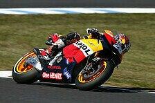MotoGP - Pedrosa im 1. Malaysia-Training Schnellster