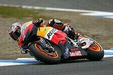 MotoGP - Stoner dominiert auch Training zwei