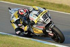 Moto2 - Lüthi nach Trainingsrang acht guter Dinge