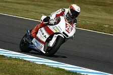 Moto2 - Raffin besteht Feuertaufe