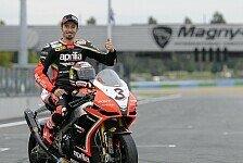 MotoGP - Biaggi testet MotoGP-Aprilia