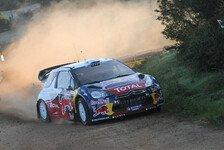 WRC - Sardinien: Hirvonen führt deutlich