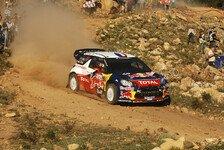 WRC - Loeb wählt in Spanien letzten Startplatz