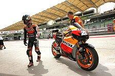 MotoGP - Pedrosa wurde das Chattering nicht los