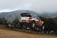 WRC - Hirvonen lässt auf Sardinien nichts anbrennen