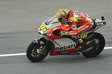 MotoGP - Rossi muss Kurve und Traktion ausbalancieren