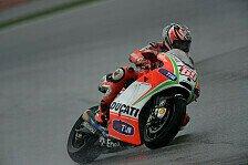 MotoGP - Hayden dominiert Regentraining in Valencia