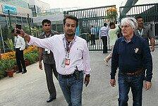Formel 1 - Ecclestone: Zweiter Indien GP denkbar