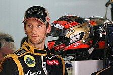 Formel 1 - Grosjean: Kein Unfall seit zwei Rennen