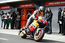 MotoGP - Stoner trotz Sturz auf Australien-Pole