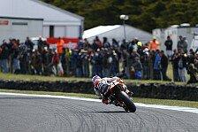 MotoGP - Stoners Dominanz setzt sich im 3. Training fort