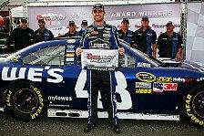 NASCAR - Überlegene Pole für Jimmie Johnson